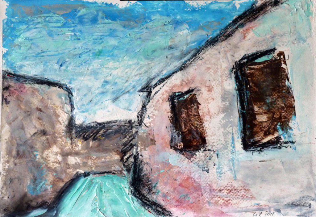 Haus / Acryl auf Papier / 2012