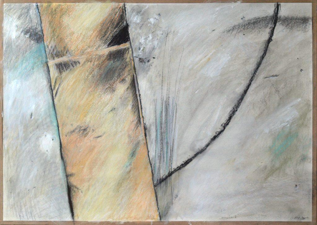 Merzbau 3 / 50x70 cm / Mischtechnik auf Papier / 2015